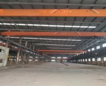 (出租)大港钢结构厂房出租,高度13米,有多台行车,空地大!