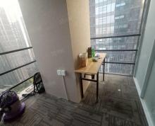 (出租)出租金融城写字楼215平1年9.5万有隔断.