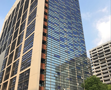 河西中胜地标建筑 艺树家工场 全新装修 大气门头 电梯口