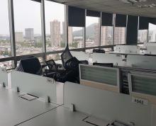 君临国际 珠江路地铁口100米 易发信息旁 精装可注册 两梯一户 办公区可容纳100多人办公 实景拍