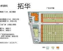 滨江开发区3100平方米标准厂房出租高17米
