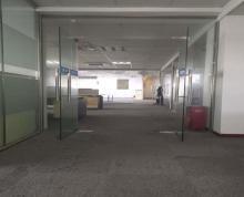 (出租)朝南带隔断地铁口 世茂广场370平办公出租好停车随时看
