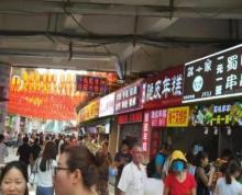 义乌小商品城正规门面店转让 人流巨大 可明火餐饮 无转让费