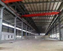 (出租)在建北站旁 S4轻轨横贯南北钢结构厂房 层高10米预留牛腿