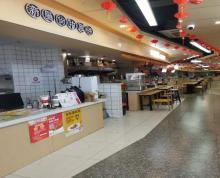 (出租)中山北路一楼临街营业中美食广场招租 5500一个月 人流量大
