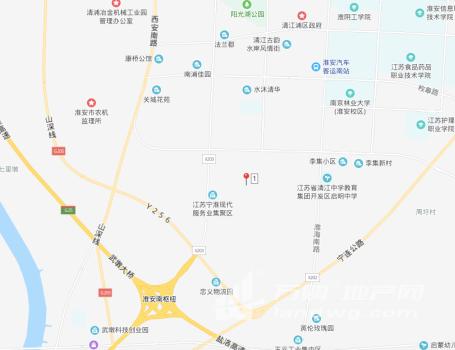 [O_774677]淮安市清江浦区230亩0.8级商住用地