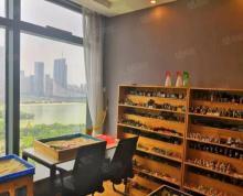 (出租)东怡金融|大气前台 正对电梯口 精装 高区观杏花公园湖景