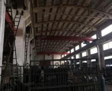 (出租)武进区雪堰漕桥工业园1500方一跨车间16吨行车另有其他一楼