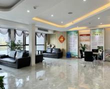 (出租) 河西万达广场旁 越洋国际320平 精装含家具 价可