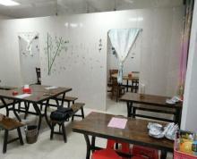 (转让)(优帮)经开区繁华大道华南城美食街纯一层双门面盈利饭店转让