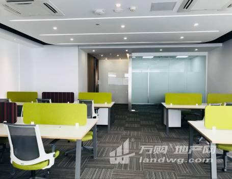 新街口常府街地铁口 凤凰和睿大厦 精装电梯口 全套办公家具