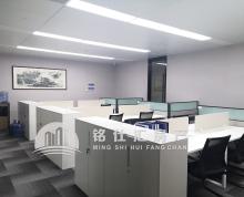 苏悦广场 正对电梯口 精装修正朝西3加1格局带工位区 如图实景拍摄 拎包办公 地铁口