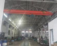 (出租)出租堰桥300平机械厂房 行车5吨 车辆可进车间