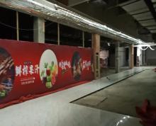 (出租)南京电视台旁商业配套五号地铁出口处可火锅自助餐面条等