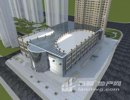 青年路高架与开放大道交汇处新兴商业综合体出售