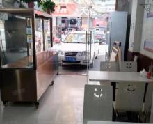 (出租)夫子庙建康路环北市场旁营业中餐饮门面出租转让证照齐全无转让费