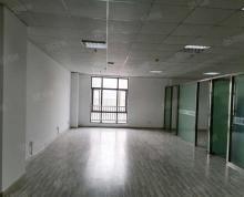 (出租)纯写字楼!玻璃隔断三间!润潮大厦97平方4万一年,电梯口位置