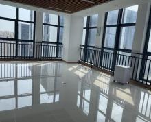 (出租)万达广场74平转角办公室 视野巨佳 随时看房 可配办公家具