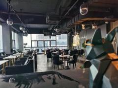(出租)星耀天地c幢240平米简装写字楼转租 装修酒吧装修可直接开店