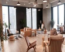 (出租)河西奥体CBD 金融城新地中心 拎包办公 一价全含