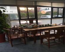 (出租)园区一楼办公室350平,无地下室承重无限制,带隔断家具