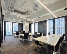 (出租)河西CBD 金融集中区 地标办公 拎包办公!新地中心金奥招银