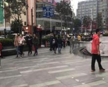 江宁文鼎广场临街门面出租,周边住宅学生人流密集,餐饮执照齐
