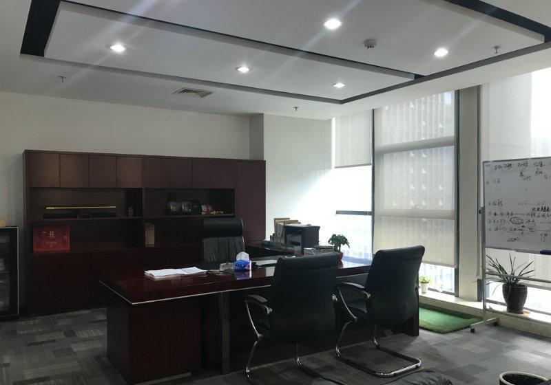 (出租)金鹰汉中新城 汉中门地铁口 办公精装修电梯口现房