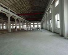 崇川区新出8000平 单一层机械厂房有10吨行车 价格便宜
