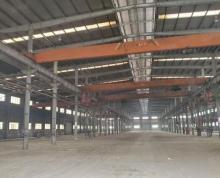 (出租)大港钢结构厂房,层高13米,有多台行车!!!