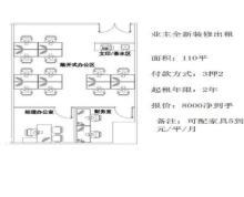 (出租)环球188,18楼,面积230,已分割好。随时看房
