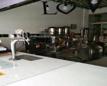 (转让) 商铺,二上一下可住人,里面早餐设备和奶茶油炸设备齐全。