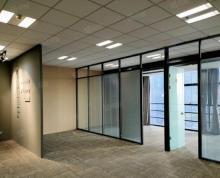(出租)盐城金融城电梯口110平带隔断,办公室出租,随时看房