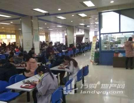 大学美食城火人气来袭,经开区万人学校食堂档口