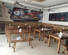 (出租)江宁万达沿街重餐饮商铺 有转让费 适合烧烤龙虾特色菜馆
