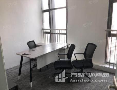 (出租)江宁万达140平精装带办公家具2个办公室交通方便随时看房
