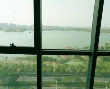 (出租) 启迪科技园 正对电梯口 一线湖景办公拎包记住
