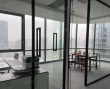 (出租)湖东丰隆 精装730平 全新8个隔断 落地窗双面采光拎包办公