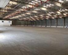 (出租)太仓市港区19000平方标准高平台仓库出租带卸货平台可分租