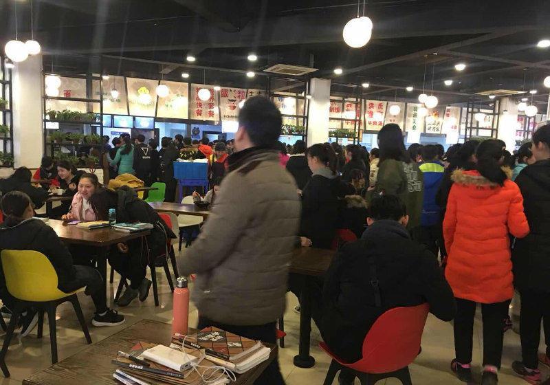 (出租) 新中标食堂一楼可做快餐等,仅剩2个窗口,0房租!