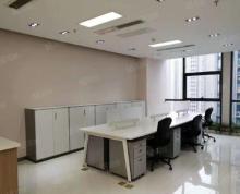 (出租)新出!地铁直达 河西万达广场 精装全明办公家具 拎包入驻