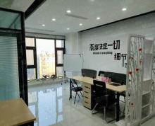 (出租)紫薇曼哈顿精装办公室出租,100平方3500一个月有办公桌椅