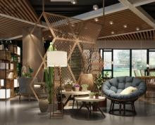 (出租)无转让费 天合广场 苏果总部 适合快餐店 5.6米层高
