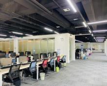 (出租)优房出租,政务区置地广场1050平正对电梯口带超大工位区急租