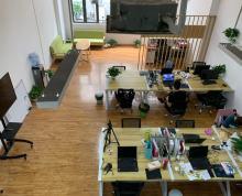 金蝶科技园 新出稀缺小面积140平 户型方正 精装修含空调 全套办公家具