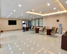 (出租) 河西万达广场大平面积视野开阔 办公精装含部分家具