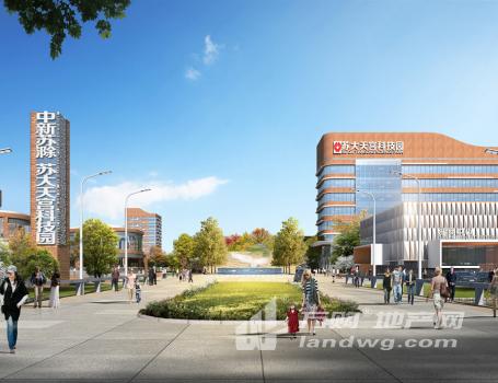 中新苏滁·苏大天宫科技园100-12000平独栋花园式总部基地、写字楼可租售