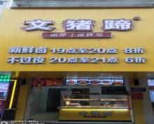 (转让)【整店转让】上海路玫瑰苑成熟卤味店转让