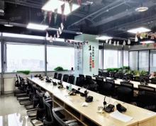(出租)江北地标新城总部大厦正对电梯口4间办公室26人厅全套家具含税
