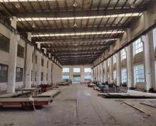 (出租)工业园区唯亭全单层3000平起仓库厂房出租厂房 5吨行车